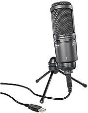 audio-technica コンデンサーマイクロホン AT2020 動画配信・宅録・ポッドキャスト・実況・DTM ブラック 【国内正規品】