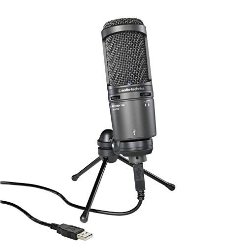 Audio-Technica AT2020USB+ USB Microphone, blk
