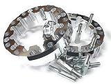 Separador Espaciador Extensor Rueda Delantera - Trasera para Quad ATV UTV SxS Buggy Ancho Amplia 45mm por Rueda 4/137-4/145-4/156 con Alargadores de Metrico 10 x 125 Set para 2 Ruedas.