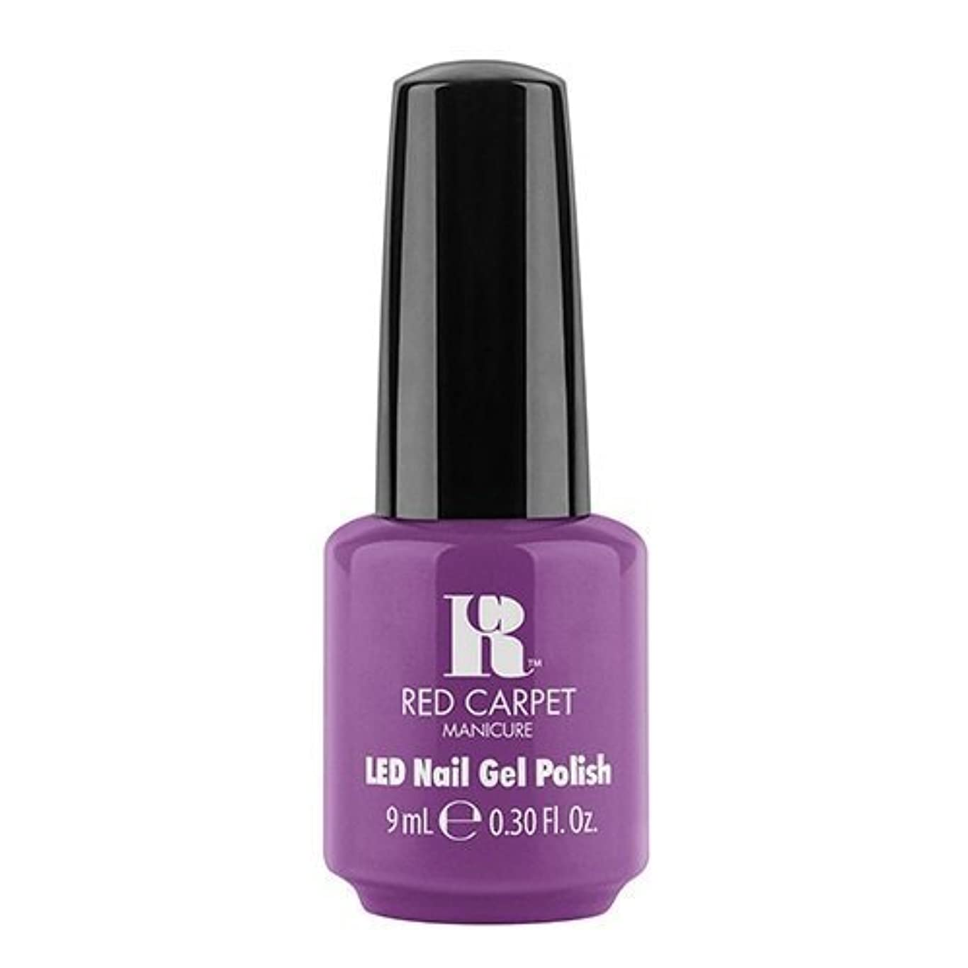 武器収益理論的Red Carpet Manicure - LED Nail Gel Polish - Dumpling Diva - 0.3oz / 9ml