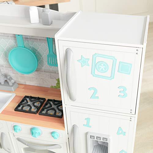 KidKraft 53424 Countryside EZ Kraft Assembly Spielküche aus Holz in Weiß - 4