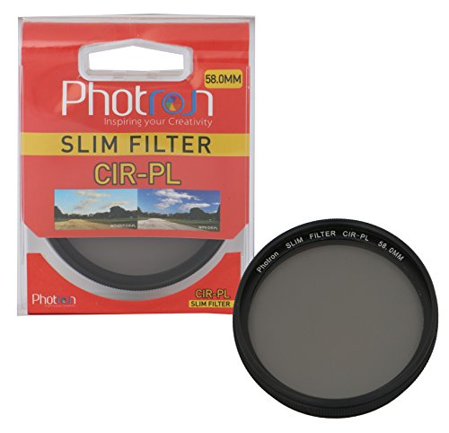 Photron 58.0mm Slim CIR-PL Circular Polarizer Lens Filter