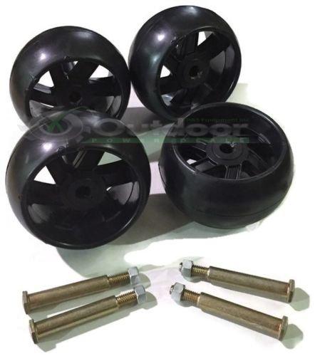 4 PK OPD Mower Deck Wheels Bolts for Some Craftsman 174873 133957 Husqvarna 532174873