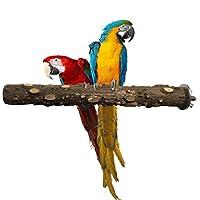 LJSLYJ ペット オウム バッジー かみ砕く かみ傷 足の粉砕棒 おもちゃ 鳥かご遊び台 止まり木