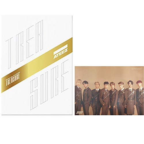 ATEEZ Treasure EP.FIN : All to Action Album (Z Version) CD+Poster+Post Cards+Treasure Film & Card+Sticker+Photobook+Photocard+(Extra 10 Photocards)
