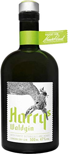 Harrys Waldgin London Dry Gin 47% 0,5l Flasche