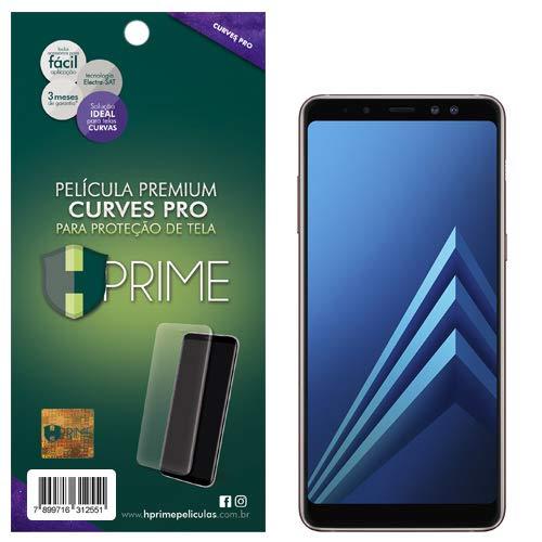 Pelicula Curves Pro para Samsung Galaxy A8 2018, HPrime, Película Protetora de Tela para Celular, Transparente