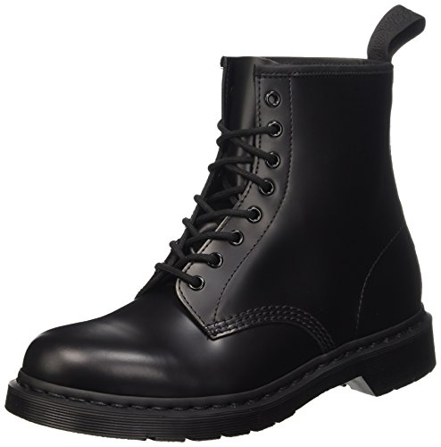 Dr. Martens 1460 MONO Smooth BLACK, Unisex-Erwachsene Combat Boots, Schwarz (Black), 40 EU (6.5 Erwachsene UK)