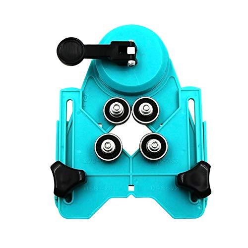 HuangThroStore - Broca universal para perforar azulejos y agujeros de cristal, guía de brocas para sierra de corona de 4 a 83 mm
