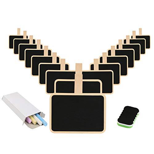 pizarra adhesivo KAKOO pizarra blanca de rectangular flexible de pizarra vinilo removible para escribir, pintar, oficina con cinco tiza de tinta y dos telas (negro)