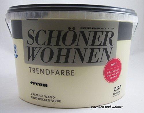 Schöner Wohnen Trendfarben Cream matt 7,5 l