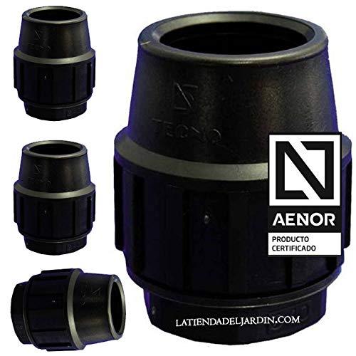 Suinga 4 x TAPON FINAL POLIETILENO 25MM. Producto con certificado AENOR utilizado para taponar tuberías PE 25 mm