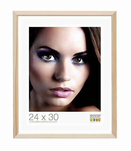 Deknudt Frames S41JH1-21.0X29.7 Bilderrahmen, Holz, schmal, 32 x 23 x 1,85 cm, naturfarben