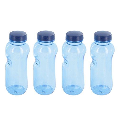 4 x 0,5 L Tritan Trinkflasche Wasserflasche...