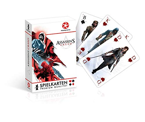 Assassin's Creed - Spielkarten - Kartenspiel | Origins | Poker