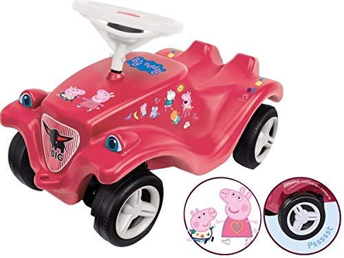 BIG - Simba 800056120 Bobby Car Peppa Pig Limitierte Sonderedition, Rosa