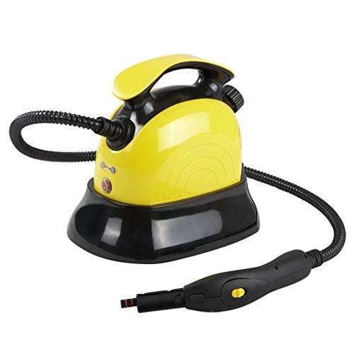 L&WB Limpiador De Vapor Portátil - 10 Accesorios De Limpieza Multifunción Sistema De Limpieza del Hogar - Adecuado para Interiores Y Exteriores - 1500W / 1100ML