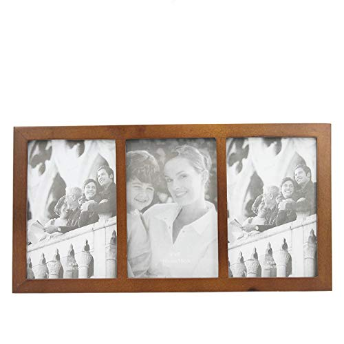 Desconocido Marco de Fotos Triple de Madera