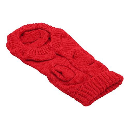 GLJYG Jersey de punto para mascotas, gato y perro, cálido, para invierno, chaqueta para mascotas, perros, cachorros, camiseta, jersey, ropa de punto para gatos y perros, color 10