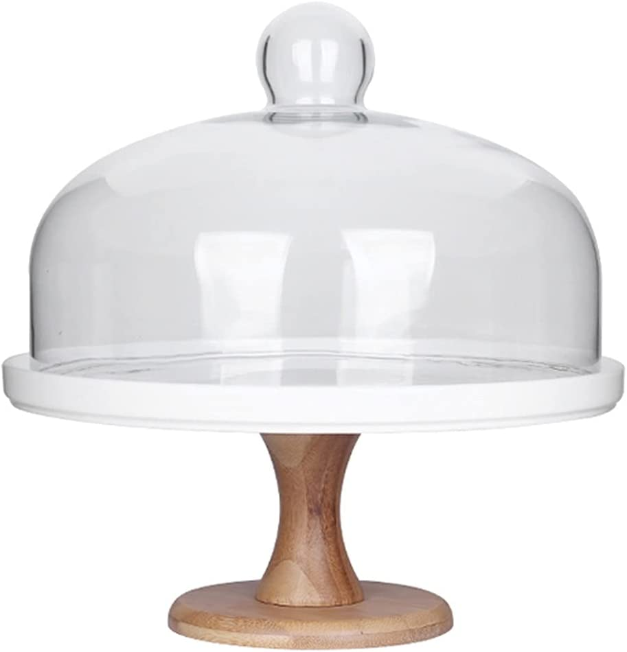 Cupcake Holder Cake Stand High quality new Tall Award-winning store Tray with Lid Glass Ceramic