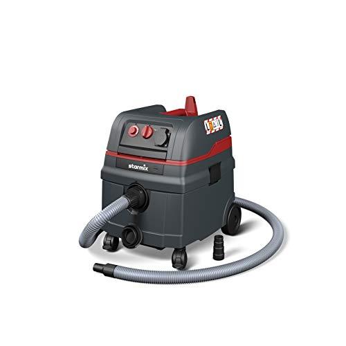 Starmix Nass- und Trockensauger Staubsauger ISC L-1625, hochwertiger Sauger für Baustelleneinsatz (1600 Watt, 25 L)