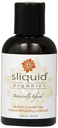 Sliquid, LLC Sliquid Organics Sensation Lubricant 4.2 Ounces (Pack of 2)