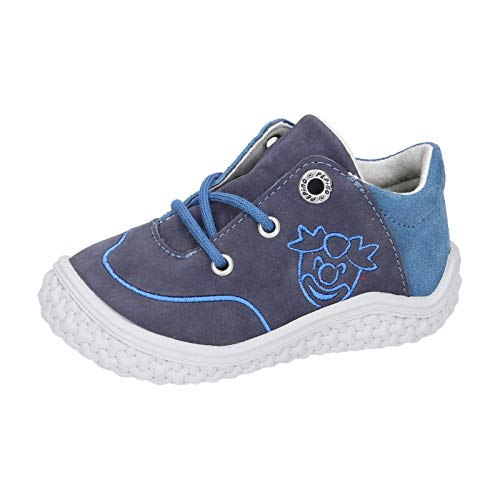 RICOSTA Kinder Low-Top Sneaker FIPS von Pepino, Weite: Mittel (WMS),Barfuß-Schuh, sportschuh Kids Maedchen Kinderschuhe,Nautic,23 EU / 6 Child UK
