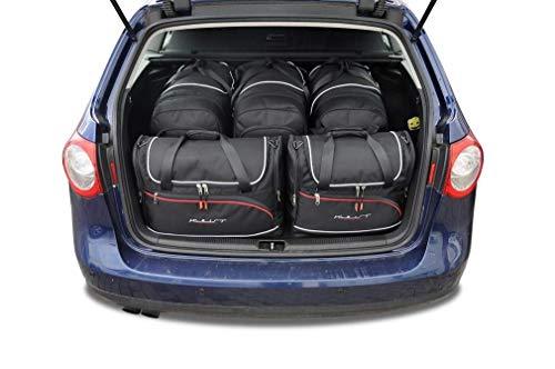 KJUST Set de Sacs de Voiture 5 pcs Compatible avec VW Passat Variant 2005 - 2010