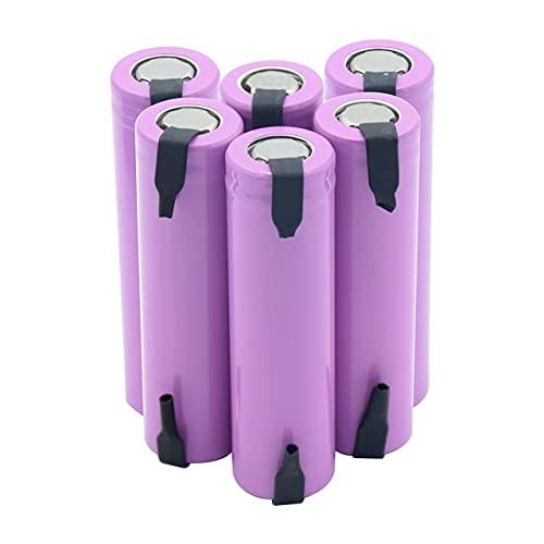 Pilas Recargables Baterías De Litio De Iones De Litio Icr18650-26F 2600Mah De 3.7V Voltios.3,7 V 6 Piezas