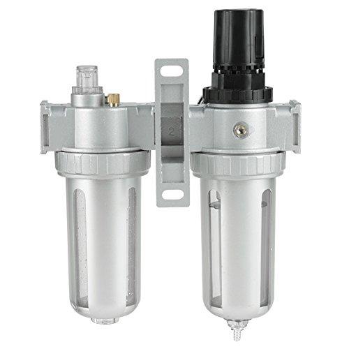 Filtro de compresor de aire, claro y fácil de usar Filtro de compresor universal ampliamente utilizado Peso ligero para kit de de herramientas de aire