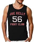 Joe Kelly Fight Club Camiseta sin Mangas para Hombre Medium