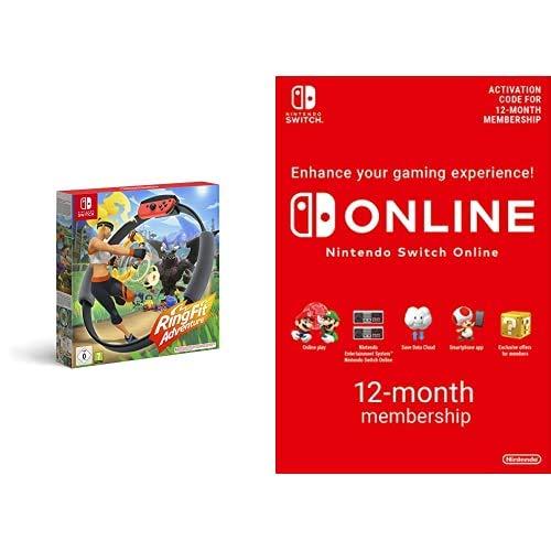 Ring Fit Adventure (Nintendo Switch) + Online Membership - 12 Months  £77.98 @ Amazon