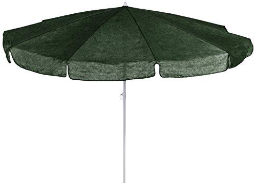 beo 121026 Sonnenschirm, Durchmesser 200 cm, dunkel grün