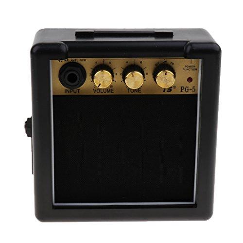 Mini Amplificador Altavoz de Guitarras eléctricas portátil Accesorios Instrumento Musical con Clips...