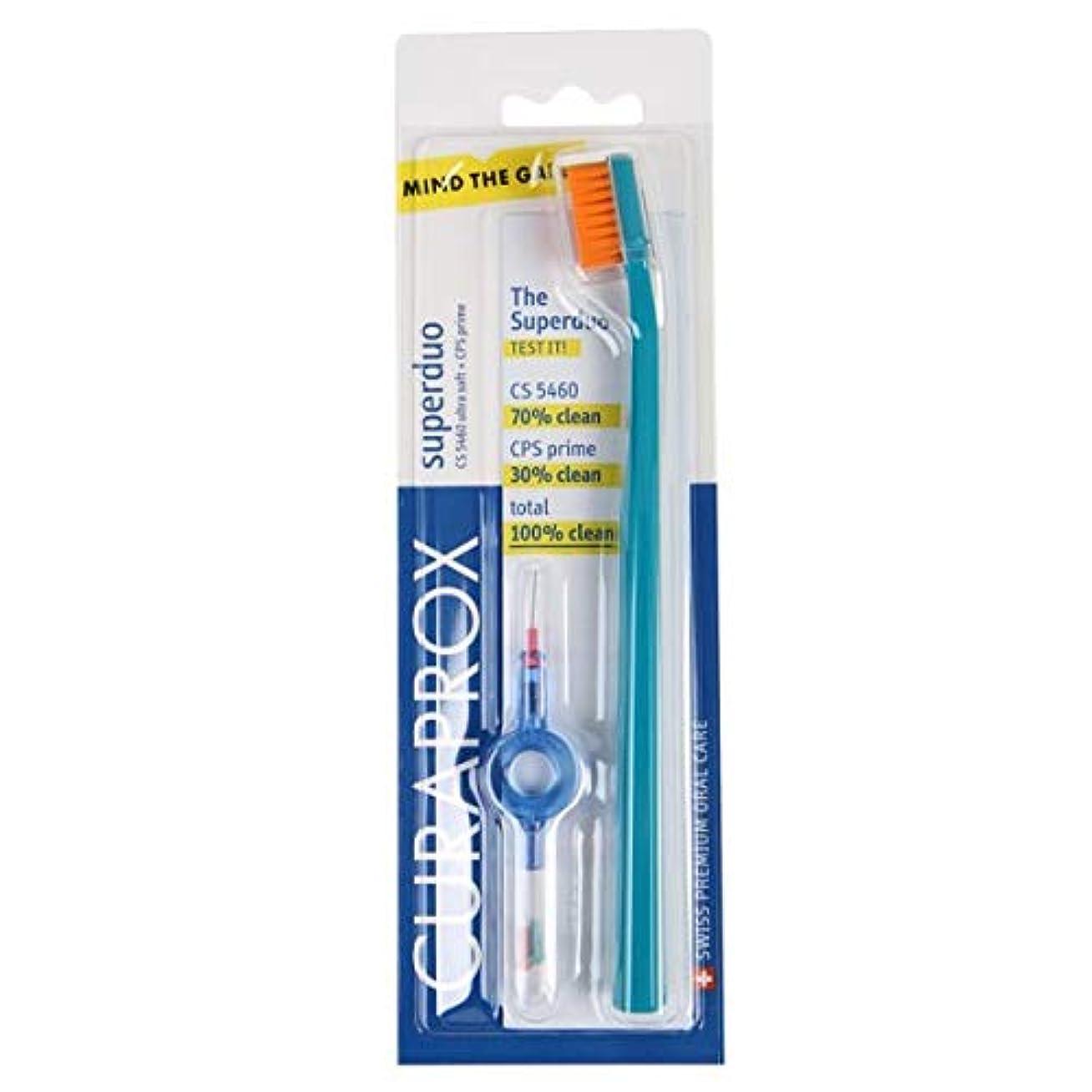 フェザーシェフ剥ぎ取るクラプロックス 歯ブラシ+歯間ブラシ セット CS 5460 + CPS 06/07/08, UHS 409 holder + cap
