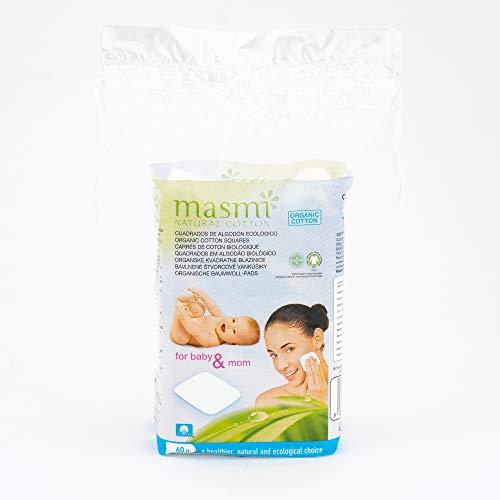 Tampons de nettoyage bio masmi 60 pièces en coton bio