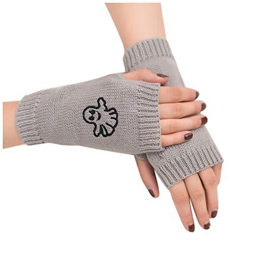 Eaylis charmant Frauen Strick handschuhe Halten Sie warme Winterhandschuhe Weicher warmer Fäustling Pulswärmer Armwärmer