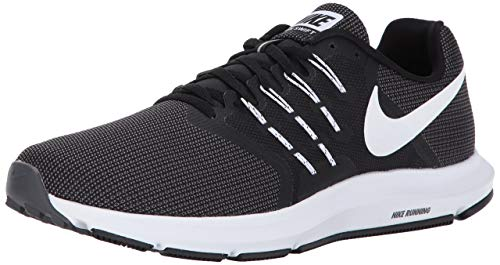 Nike Men's Swift Running Shoe, Black/White-Dark Grey, 8.5 Regular US