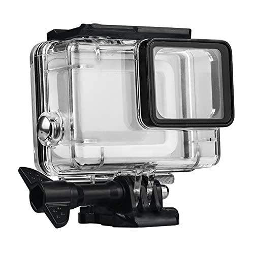 FUQUANDIAN Caja de la Carcasa de 45M for GoPro Hero 5 6 7 Black Diving Protective Buck Bound Cover for Gopro Filter Bag Accessories Accesorios de Soporte (Colour : E2035)