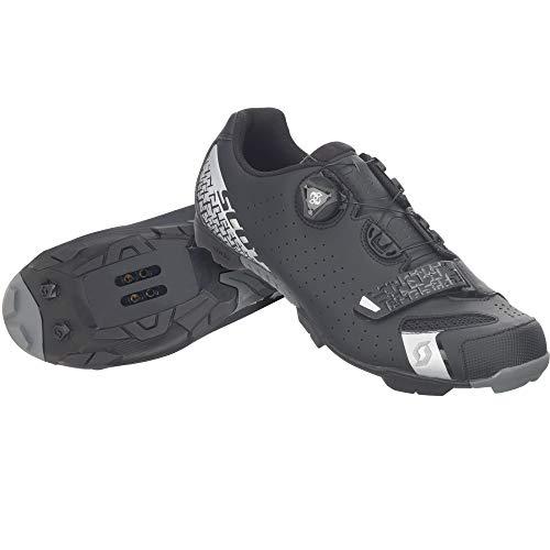Scott Herren MTB-Radschuh Comp Boa Mountainbike Schuhe, Schwarz (Schwarz/Silber 5547), 42 EU