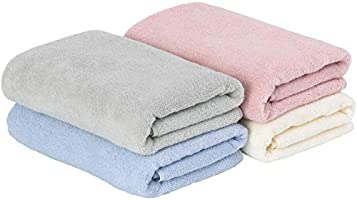 Towel Research Institute (Everyday Simple) Fluffy, Fast Absorbent, Quick Drying, Durable, Popular, 7 Colors to Choose From