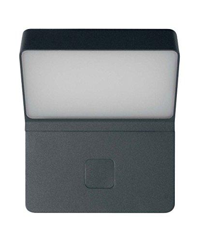 OSRAM - Applique extérieure LED ENDURA STYLE Wall Wide - Détecteur de Mouvements - 12W Equivalent 57W - Gris Anthracite - Garantie 5 ans