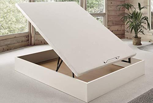 Canapé abatible Wood de Home Medida 150x200 cm Color Blanco
