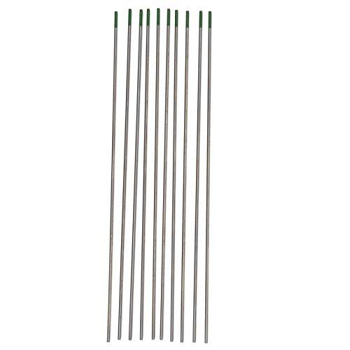 Accesorios de soldadura Electrodo de soldadura WP verde 10 piezas 1,6 x...