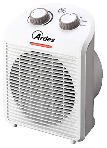 Ardes AR4F01N Termoventilatore TEPO DESIGN con 2 Potenze, Termostato Temperatura, Spia Funzionamento...