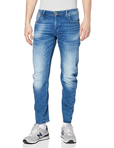 G-STAR RAW Arc 3D Slim Jean, Bleu (Authentic Faded Blue B631-A817), 32W / 32L Homme