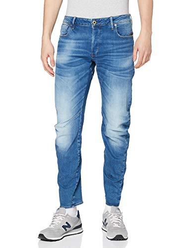G-STAR RAW ARC 3D Slim Jeans Vaqueros, Authentic Faded Blue, 32W / 32L para Hombre