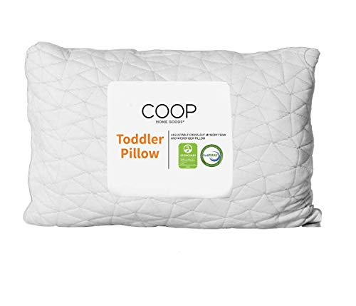 Coop Home Goods - Toddler Pillow (14x19) - Hypoallergenic...