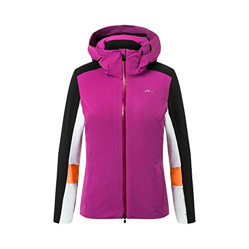 KJUS Women Laina Jacket Pink-Schwarz, Damen Jacke, Größe 42 - Farbe Fruity Pink - Black