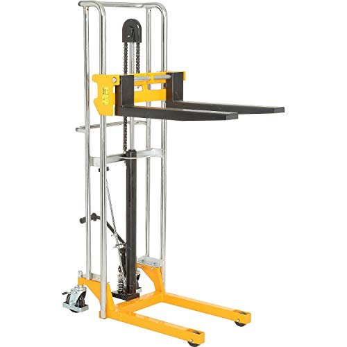 880 Lb. Cap. Manual Lift Stacker, 59